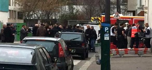 Attentat de Paris au siege de Charlie Hebdo