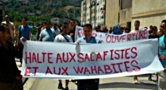 Marche contres les salafistes