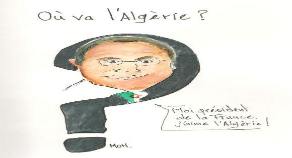 Francois Hollande et l'Algérie