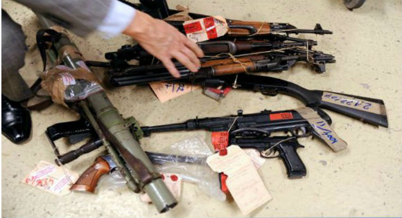 De la drogue et des armes chez les islamistes