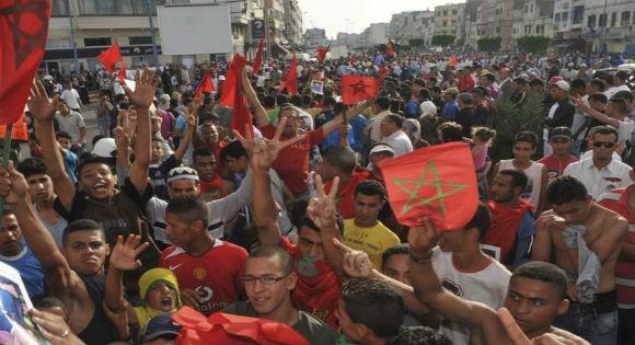 Les Marocains sortent dans la rue pour dénoncer le Polisario