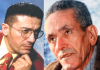 Matoub Lounès avec Slimane Azem