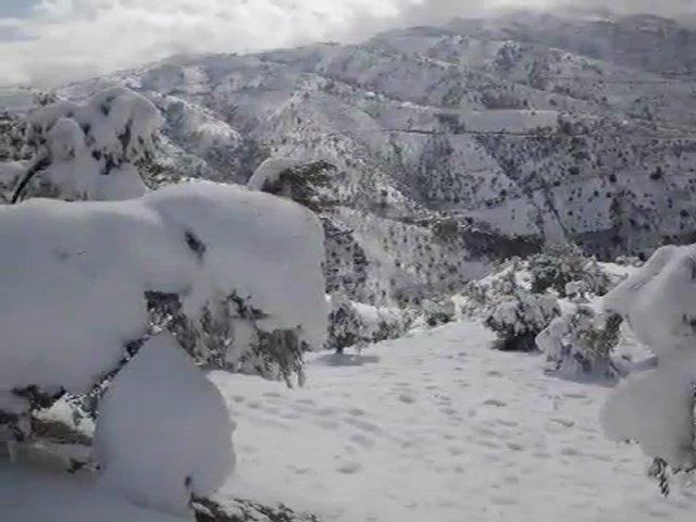 Kabylie sous la neige