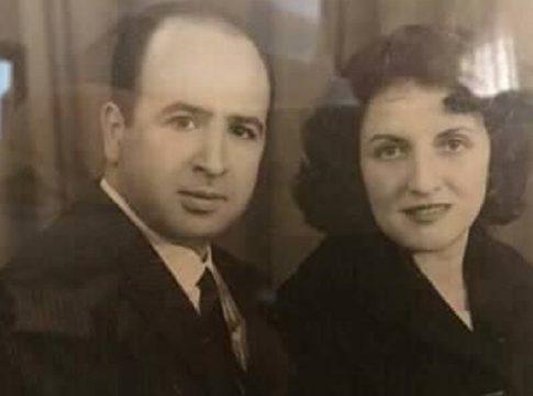 Belkacem Krim et sa Femme