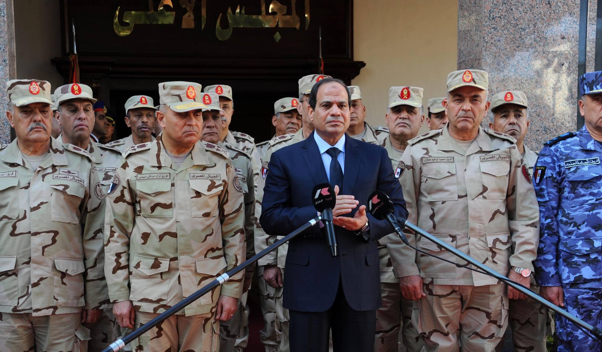 General Al-Sissi, Egypte