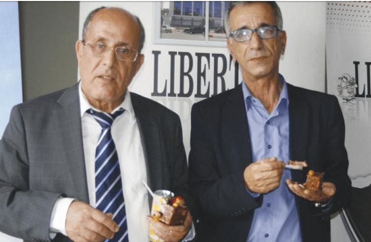 Outoudert Abrous et Said Chekri