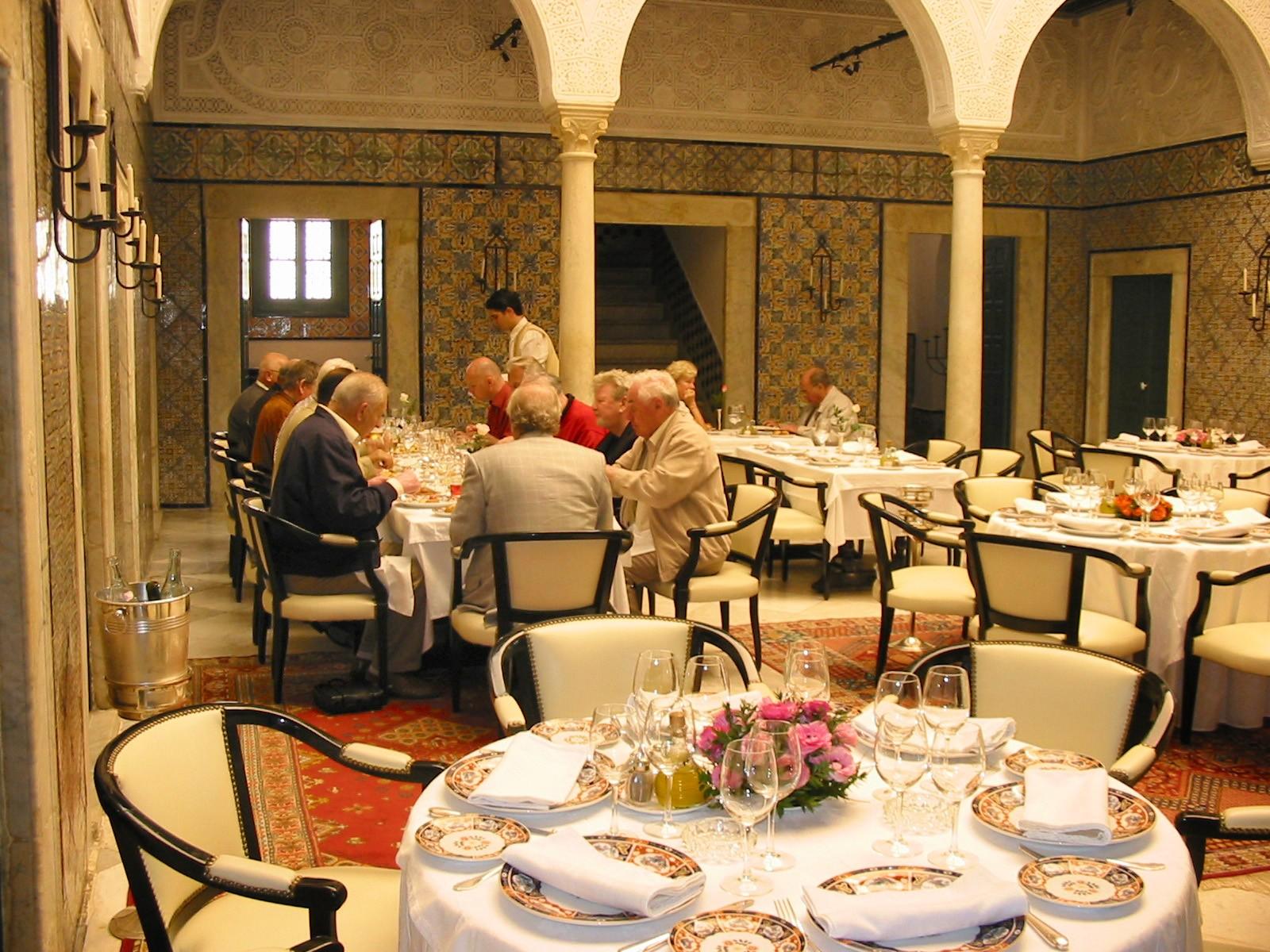 restaurant en Tunisie