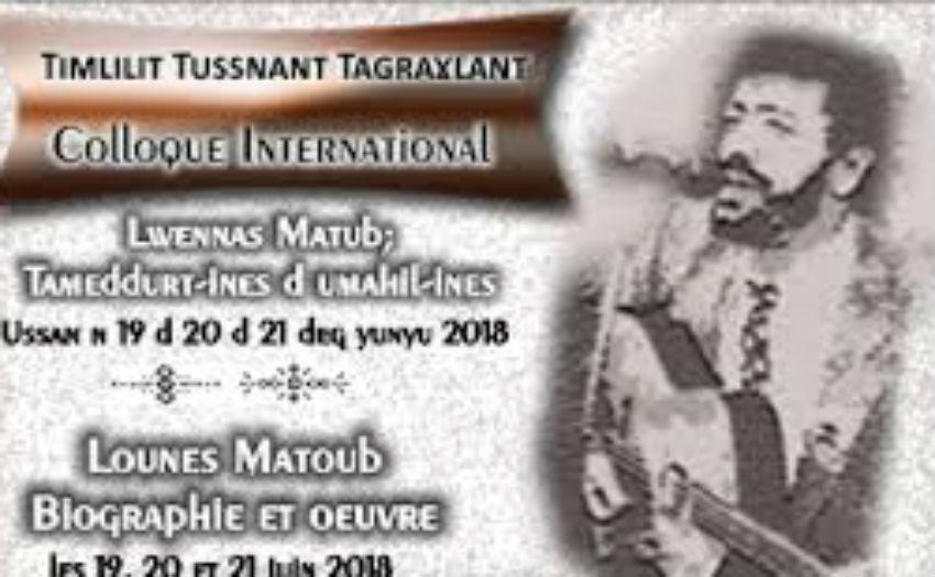 Colloque Matoub