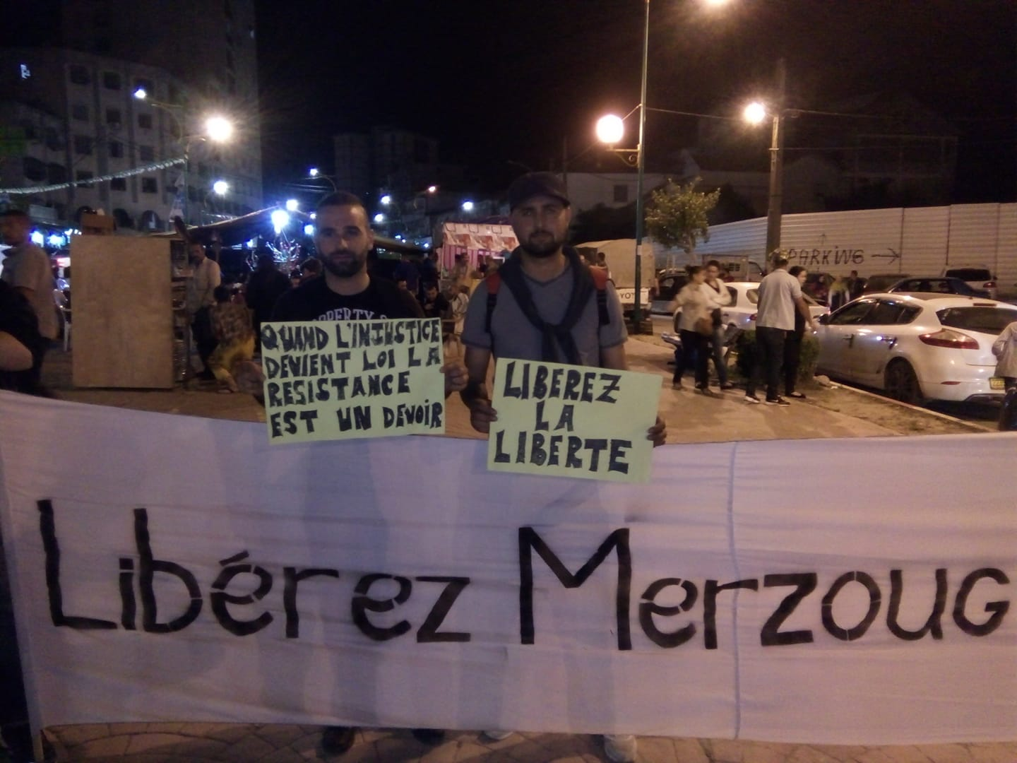 Sit in Merzouk Tizi