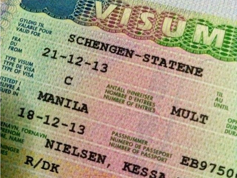 visas Schengen