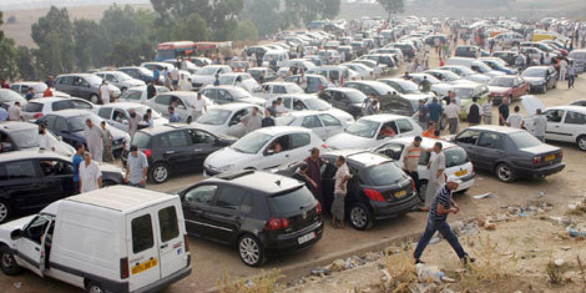 Automobilistes a tizi ouzou
