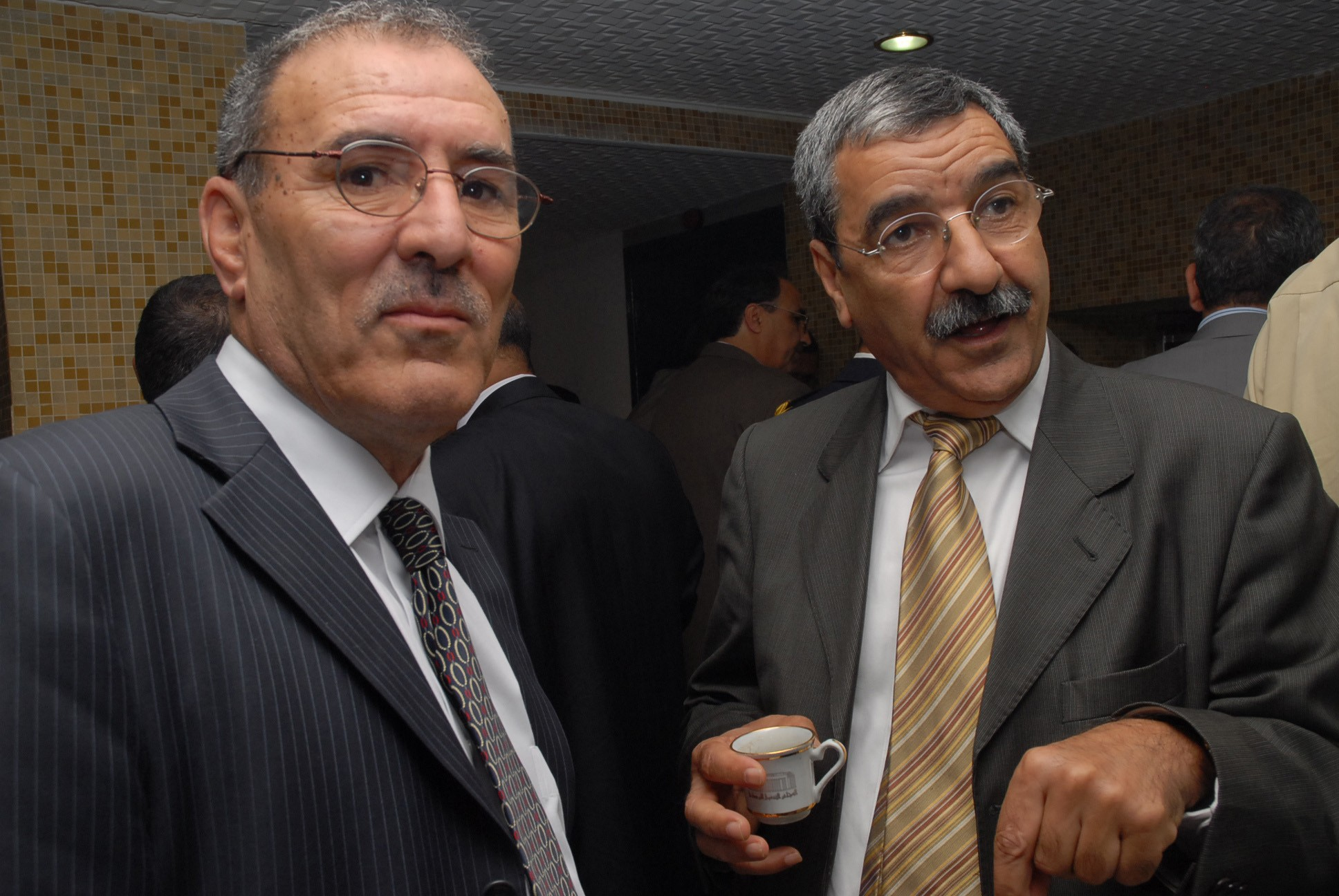 Nordine Ait Hamouda et Dr Said Sadi