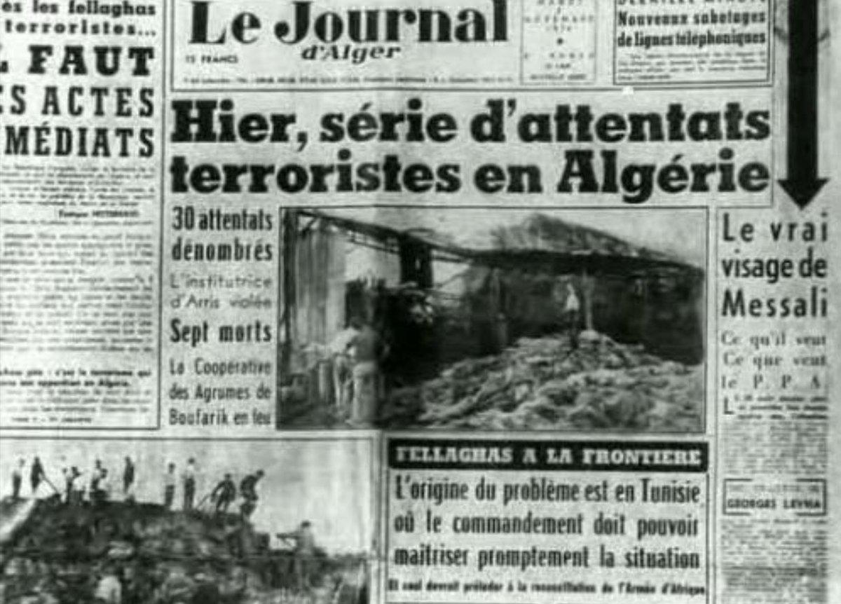1ere novembre 1954