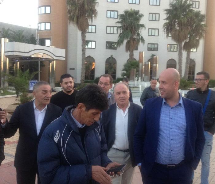 président de la Jeunesse Sportive de Kabylie, Cherif Mellal