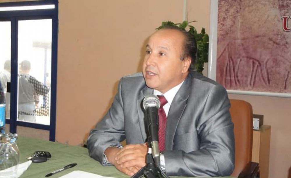 Mohamed Djellaoui, Président de l'Académie algérienne de langue amazighe