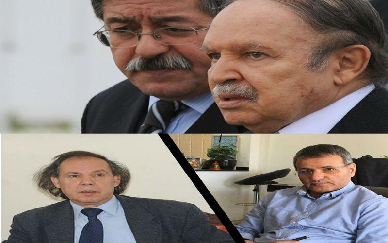 Bouteflika et Ouyahia, Khediri et Ait-Larbi