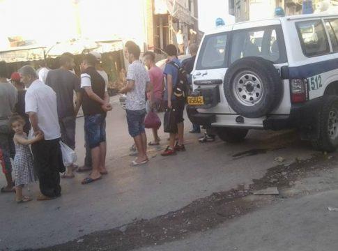 Gendarmerie algerienne en Kabylie