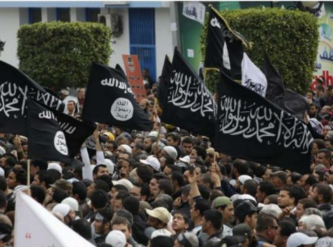 manifestation d islamistes