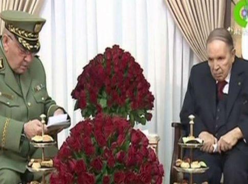 Ahmed Gaid Salah et Bouteflika