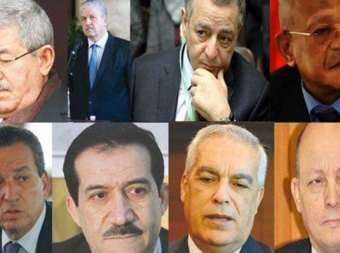 Ouyahia, Sellal et les autres