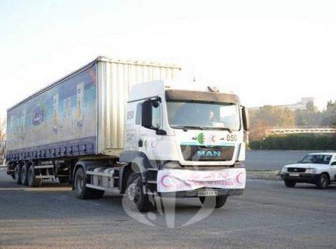 Camion de gros tonnage du CRA