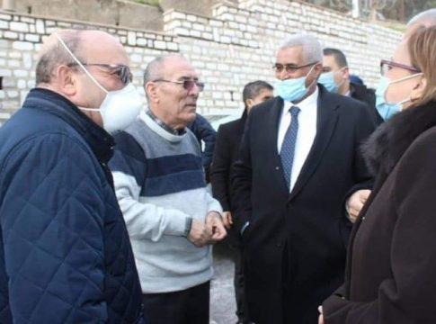 Nordine Ait Hamouda accueille 2 ministres algériens