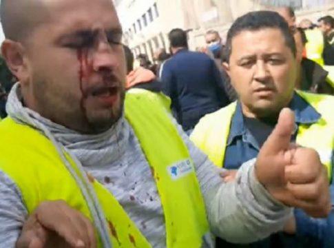 Violence policière contre les travailleurs