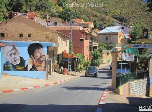 Village Laghrous en Kabylie