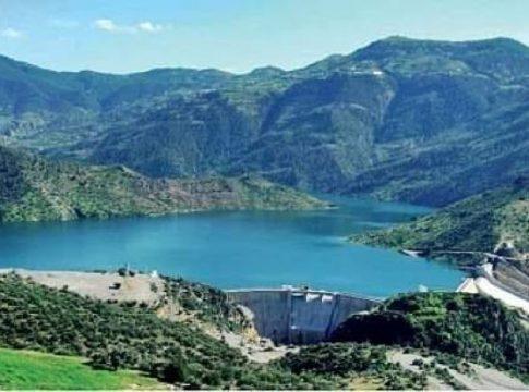 Le barrage hydraulique de Ticy-Haf