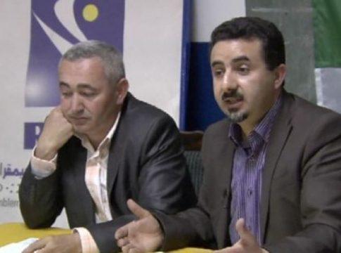 Atmane Mazouz avec H. Saheb
