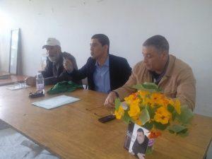 Mahrez Bouich au centre culturel d'Aokas