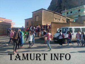 Agouini Gueghrane marche des Ecoliers kabyles pour tamazight 22-10-2018 DR Tamurt