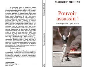 Pouvoir assassin ! de Mahiout Merhab