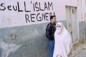 graffiti a la gloire du front islamique