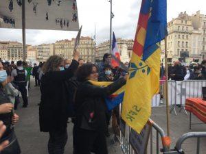 Rassemblement des indépendantistes kabyles à Marseille, le 25 10 2020