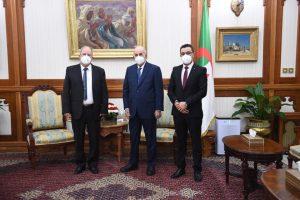 Le président Tebboune recoit le FFS